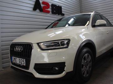 Audi Q3 2,0 TDIQuattro S Tronic (SÅLD)