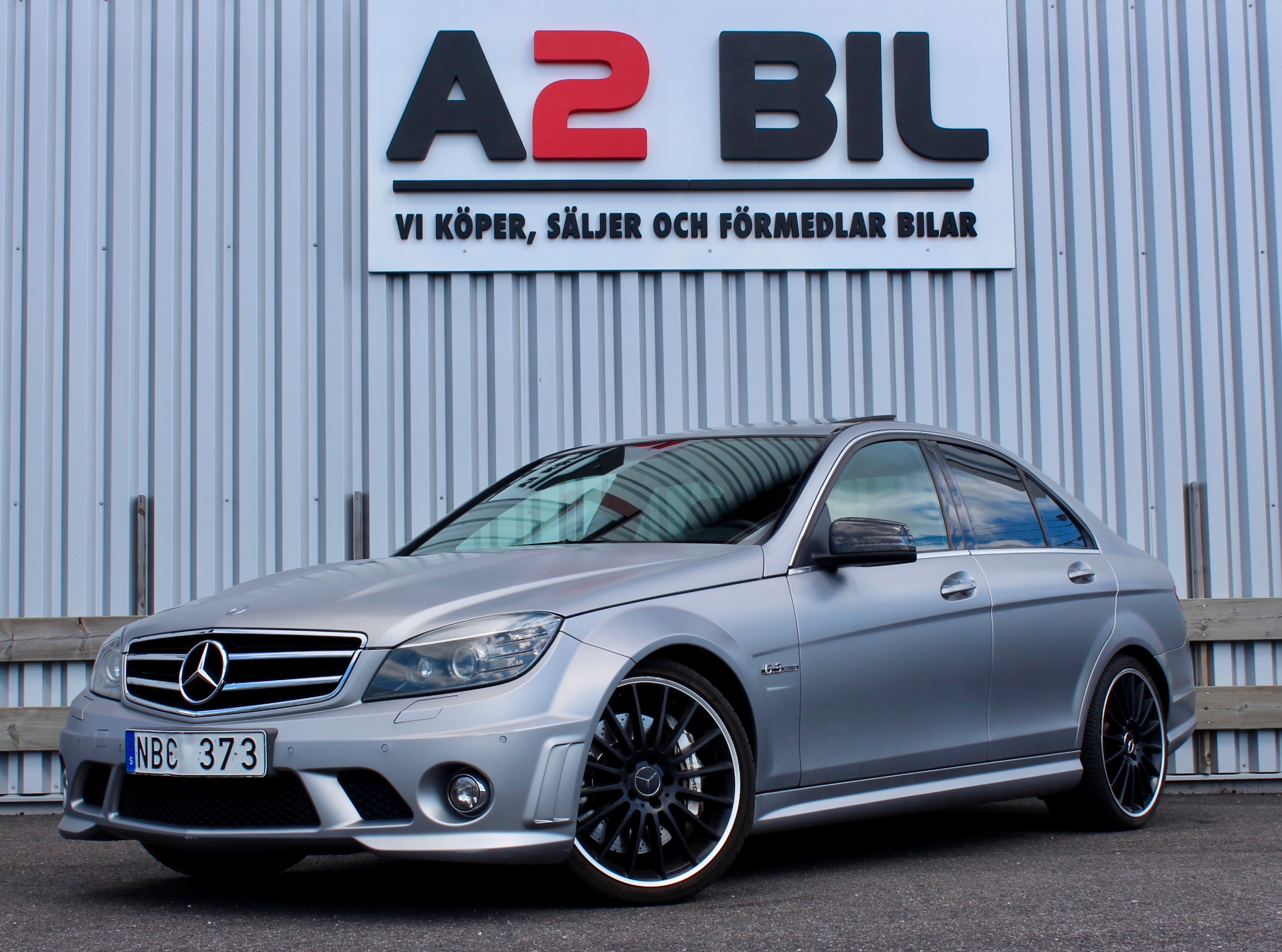 Mercedes-Benz C 63 AMG Speedshift MCT 457hk