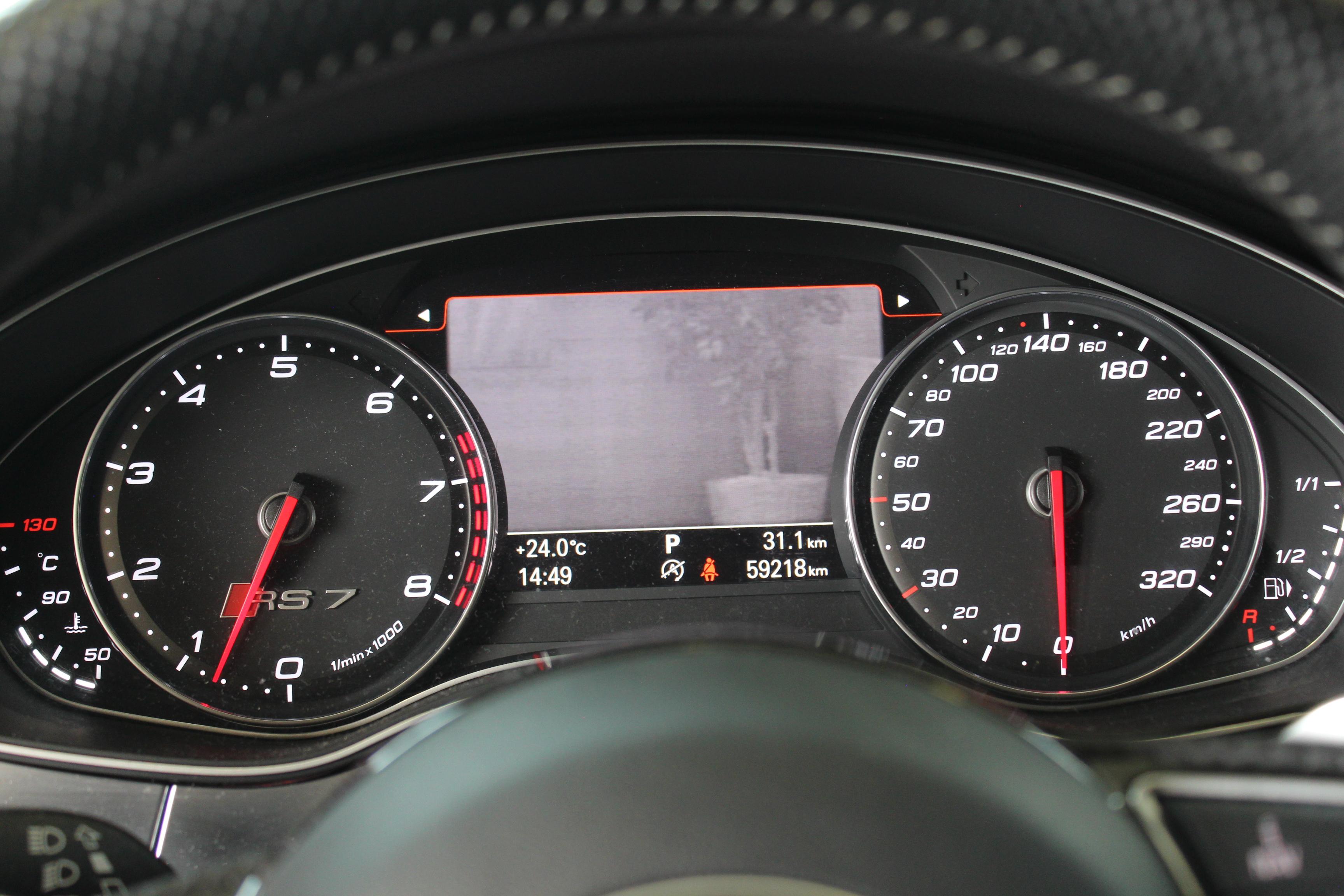 Audi RS7 Sportback 4.0 TFSI V8 quattro TipTronic 560hk