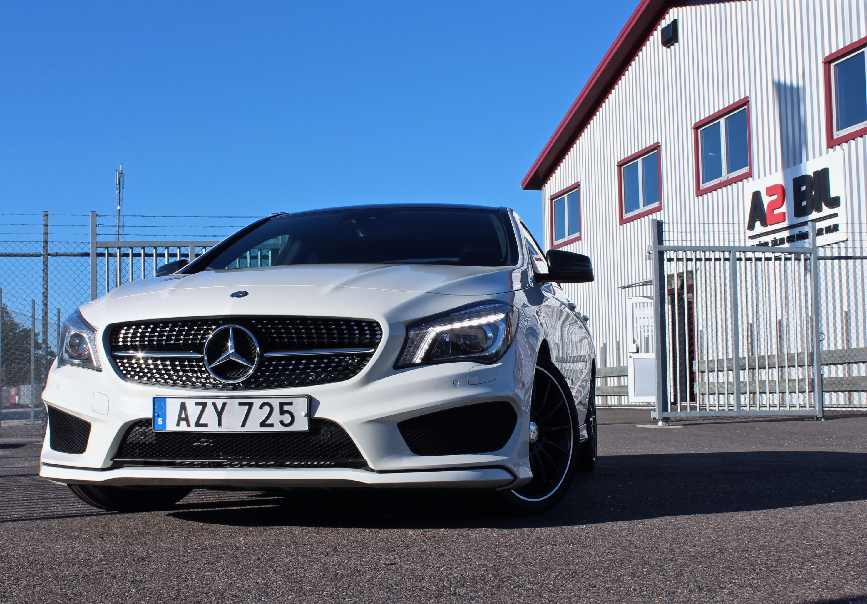 Mercedes-Benz CLA 220d AMG Night premium (SÅLD)