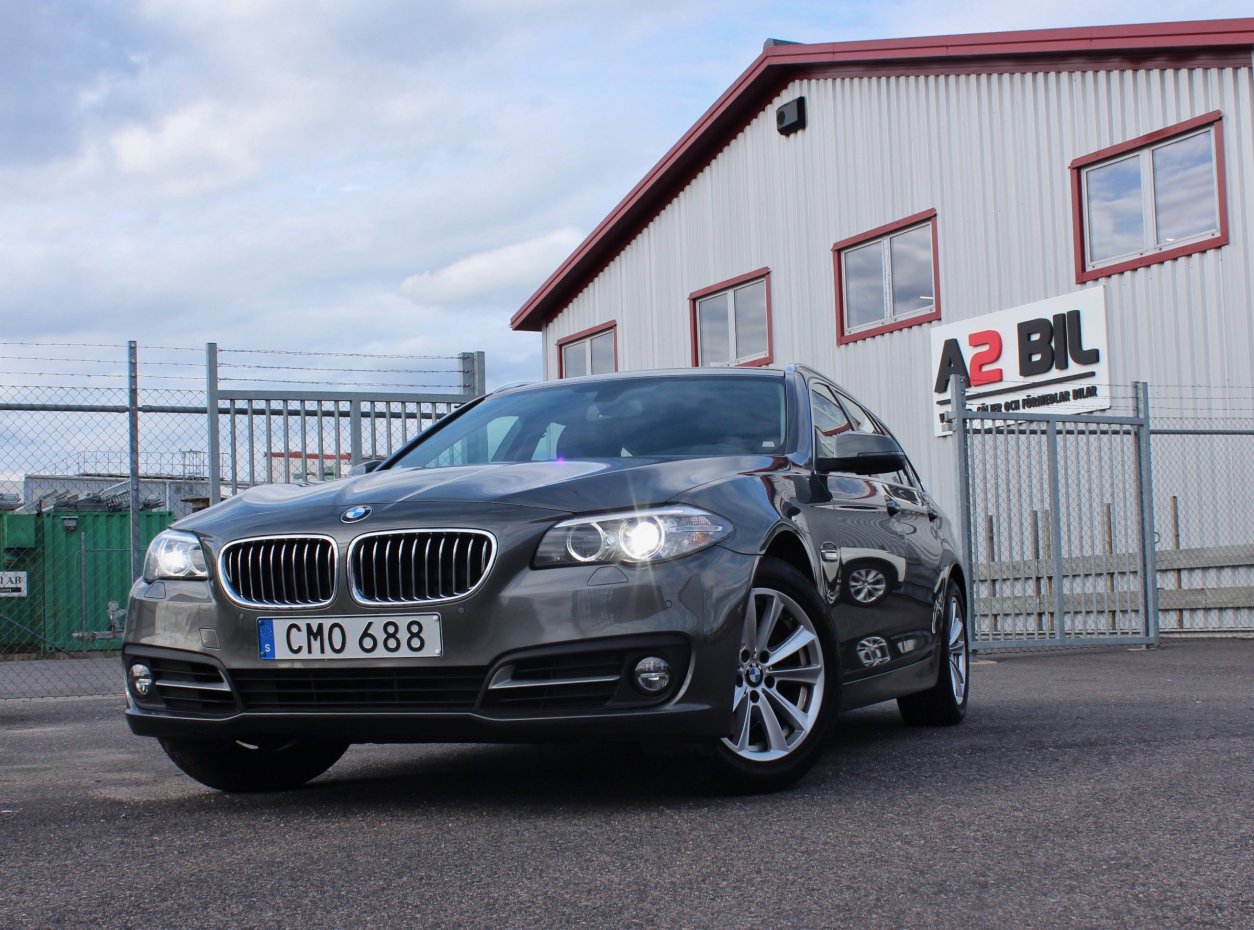 BMW 520 d Touring Steptronic Euro 6 184hk