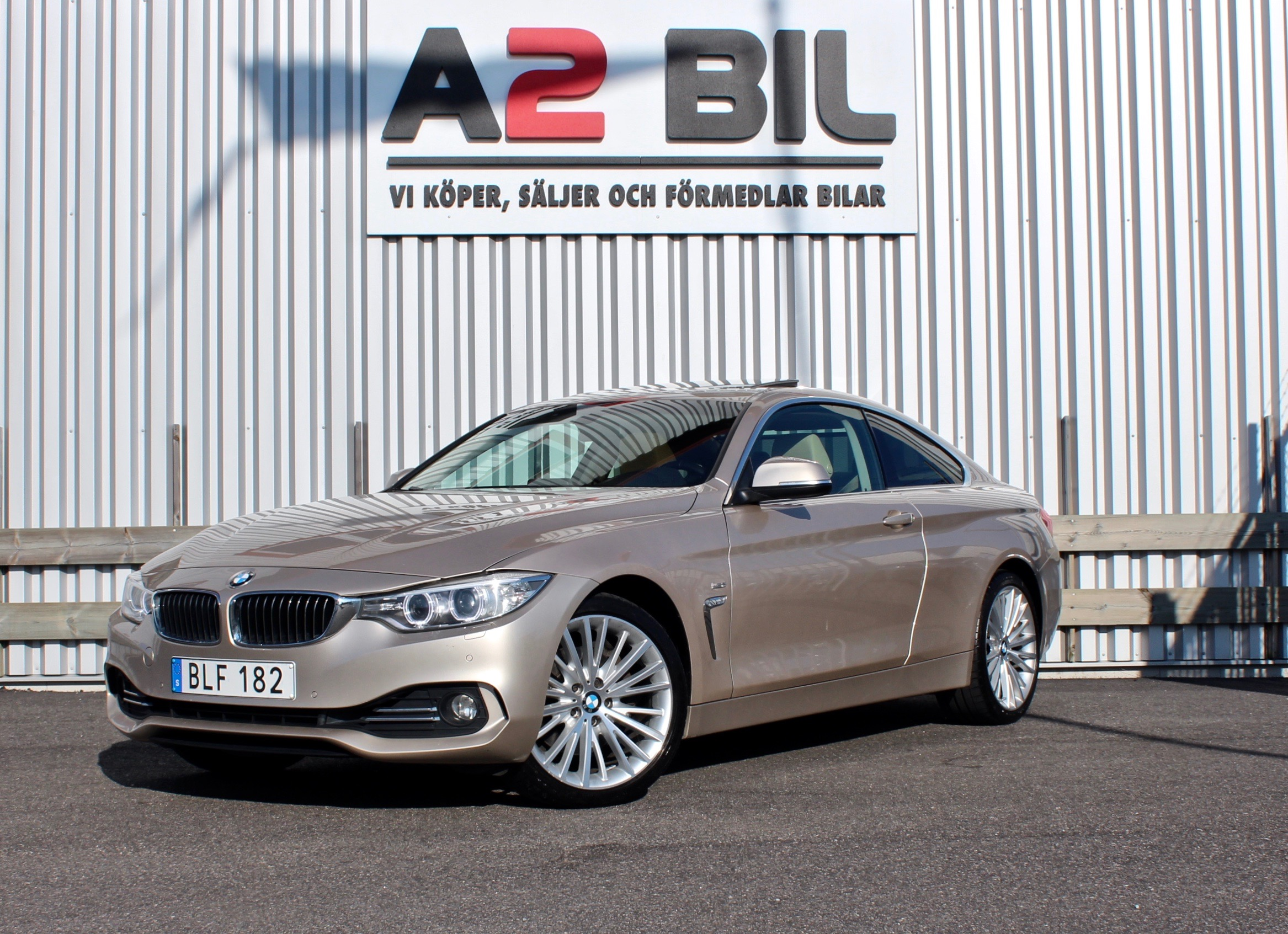 BMW 430 d xDrive Coupé Luxury Line Euro 6 258hk