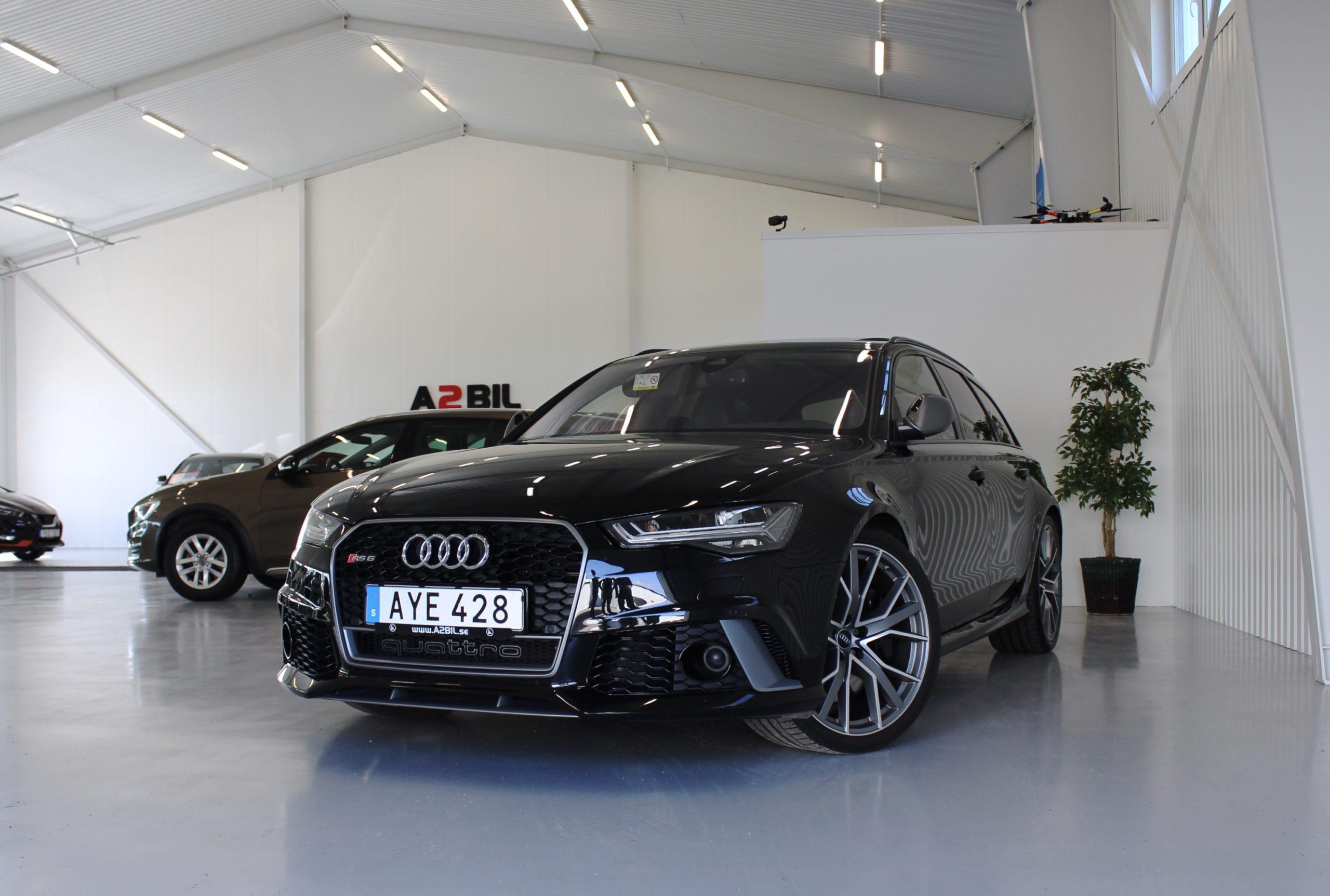 Audi RS6 Performance 4.0 TFSI V8 quattro 605hk SV