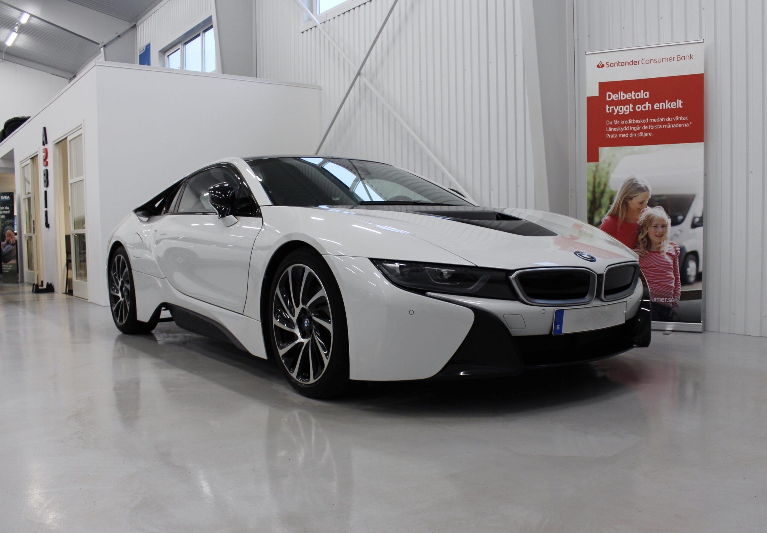 BMW i8 Coupé Laserlight Svensksåld 362hk