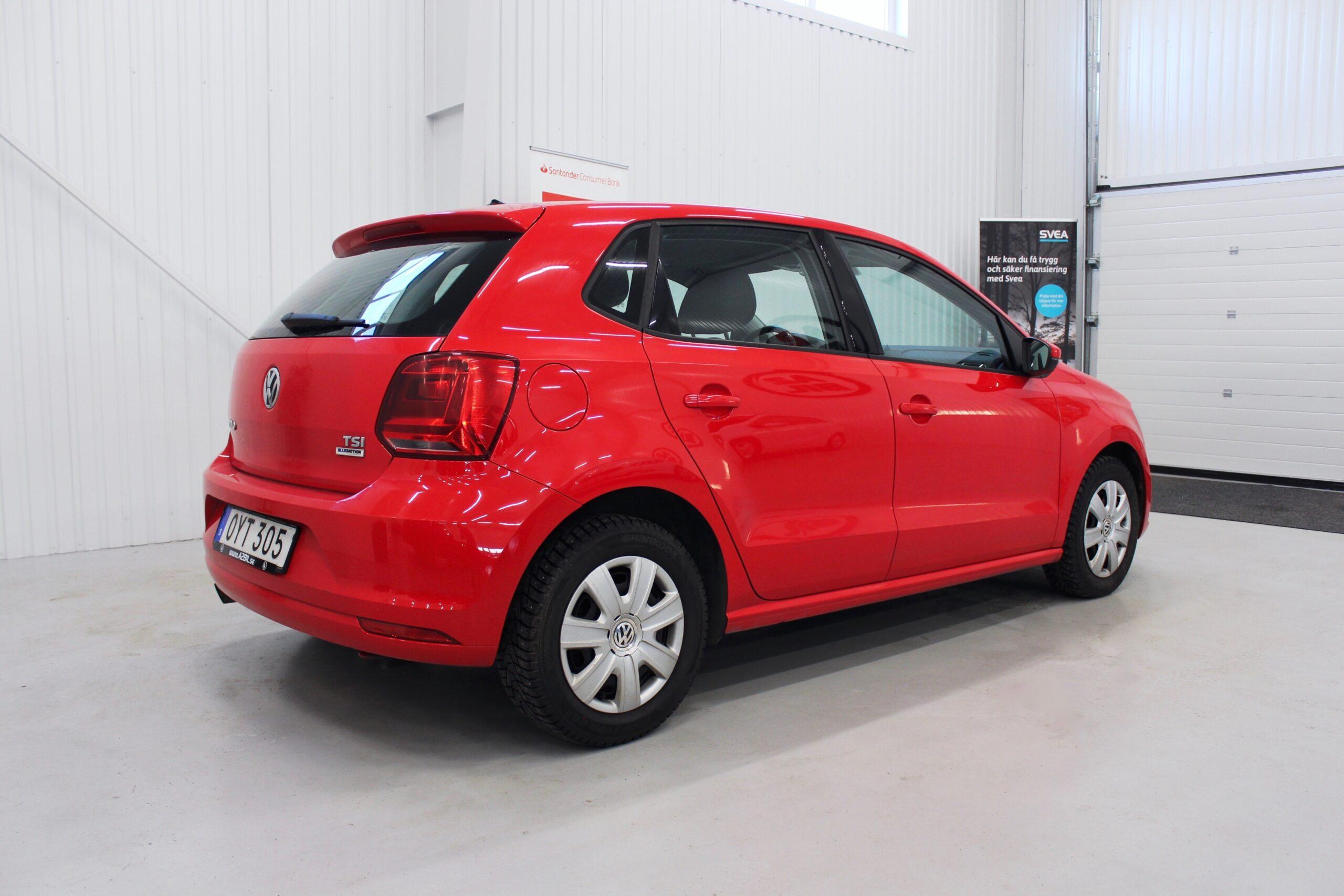 Volkswagen Polo 5-dörrar 1.2 TSI DSG Sekventiell Euro 6 90hk