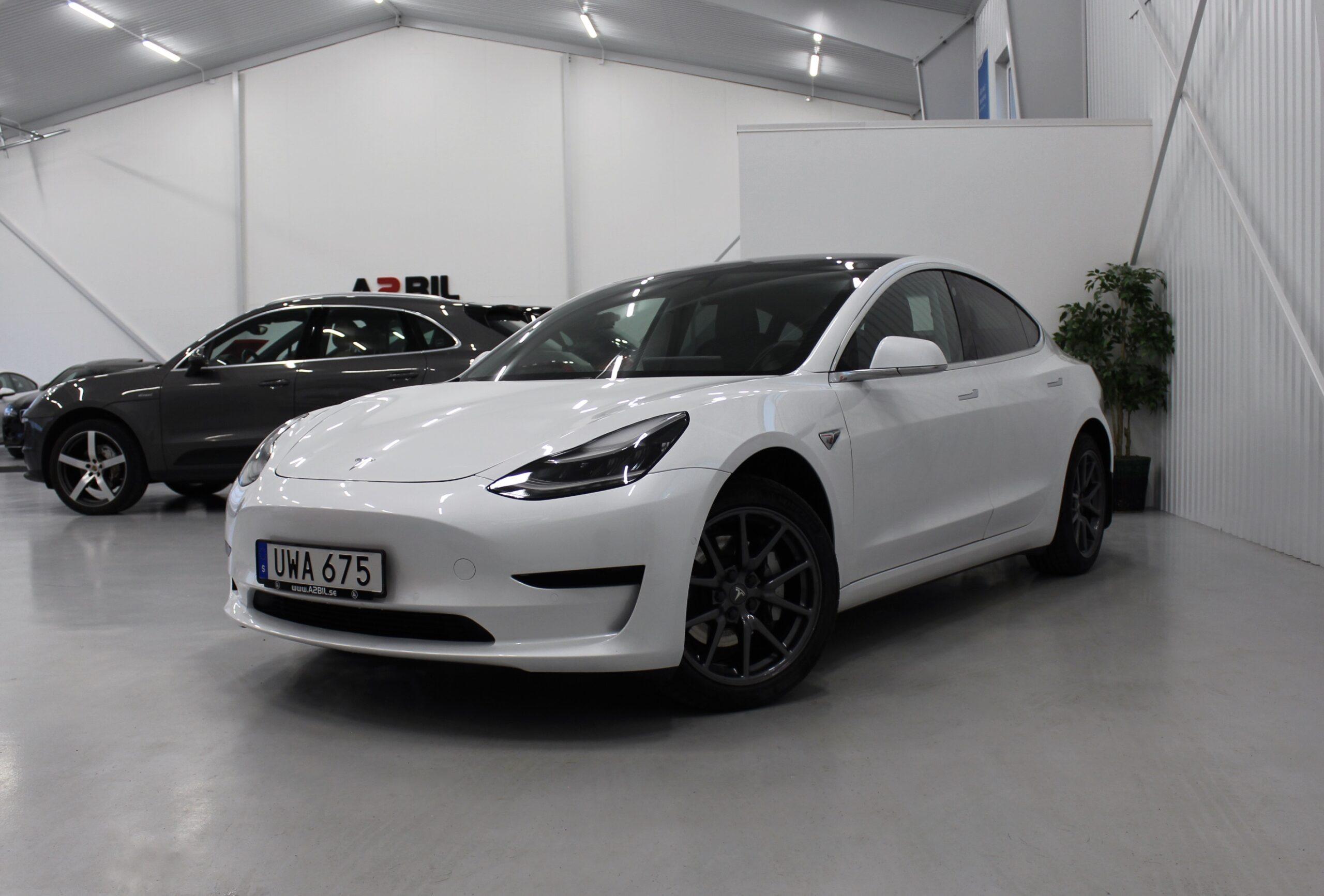 Tesla Model 3 Standard Range Plus 258hk
